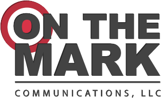 On The Mark Communications, LLC Retina Logo