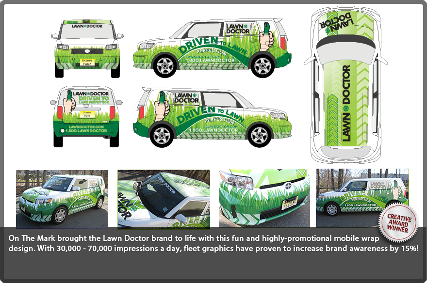 Lawn Doctor Vehicle Wrap